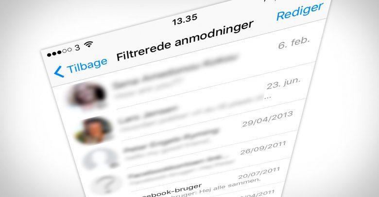 Photo of Sådan finder du dine skjulte Facebook-beskeder
