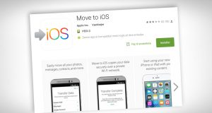Move to iOS app på Android