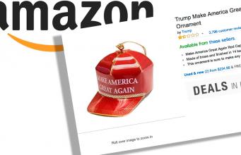 Donald Trump Julepynt