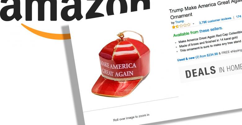 Photo of Amazon anmeldelser af Donald Trump julepynt er… Anderledes