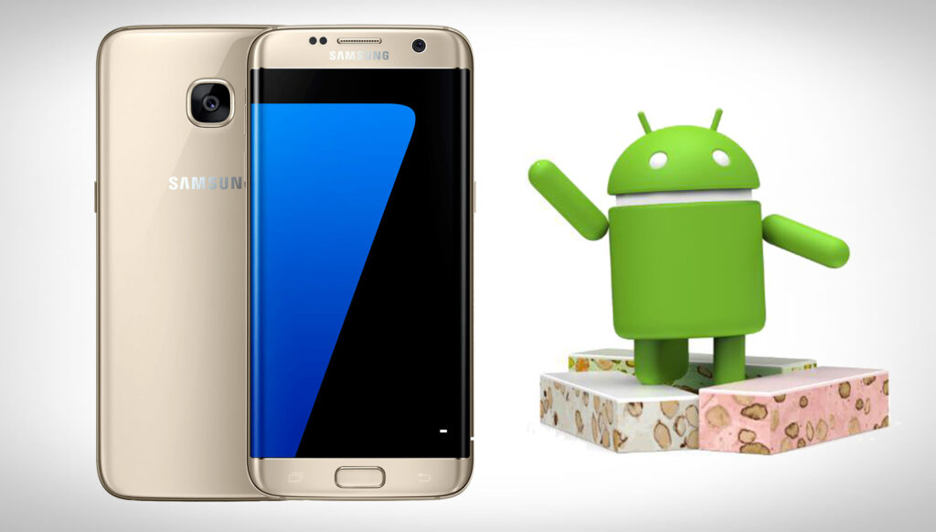 Samsung Galaxy S7 får Android