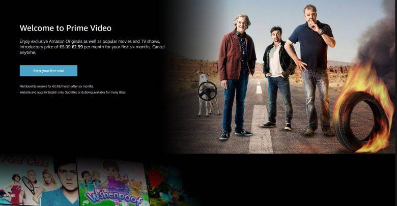 Photo of Amazon Prime Video tilbyder begrænset udvalg i kæmpebutikken
