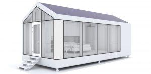 3D-printet hus modulOne