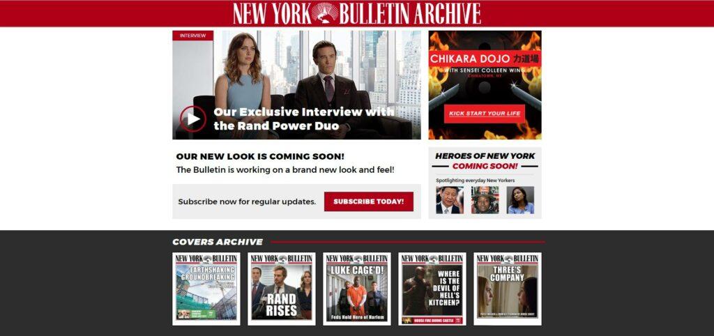 The Defenders - NY Bulletin