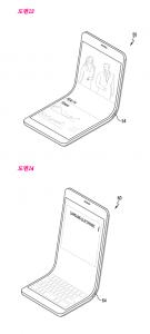 Patentansøgning fra Samsung viser foldelig mobilskærm