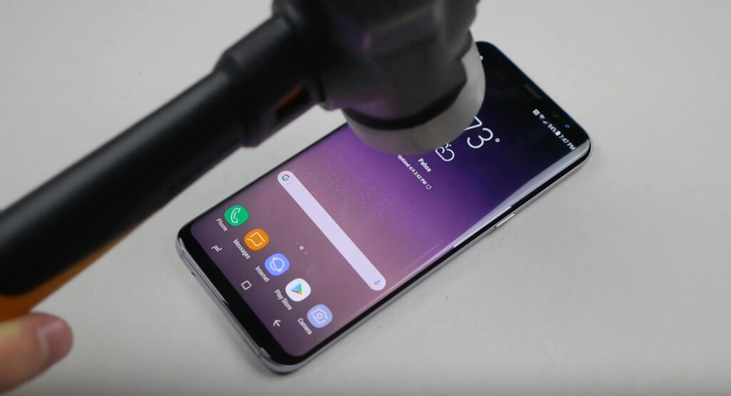 S8 gets the hammer