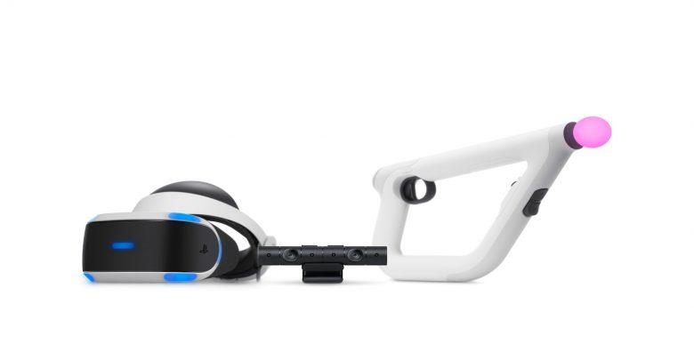 PSVR Aim Controller - virtual reality