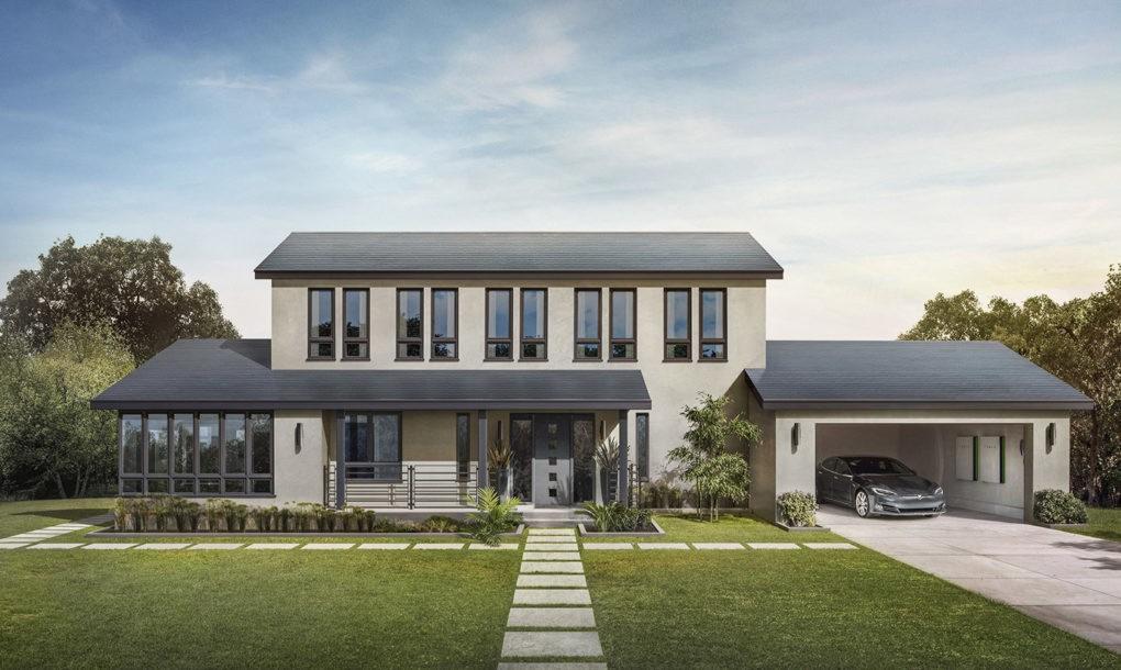 Tesla solcelletag