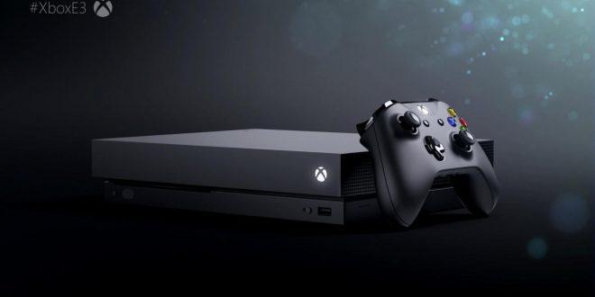 X Box One X E3