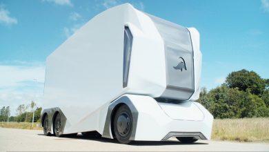 Photo of Den selvkørende lastbil ligner en kummefryser på hjul: The T-Pod