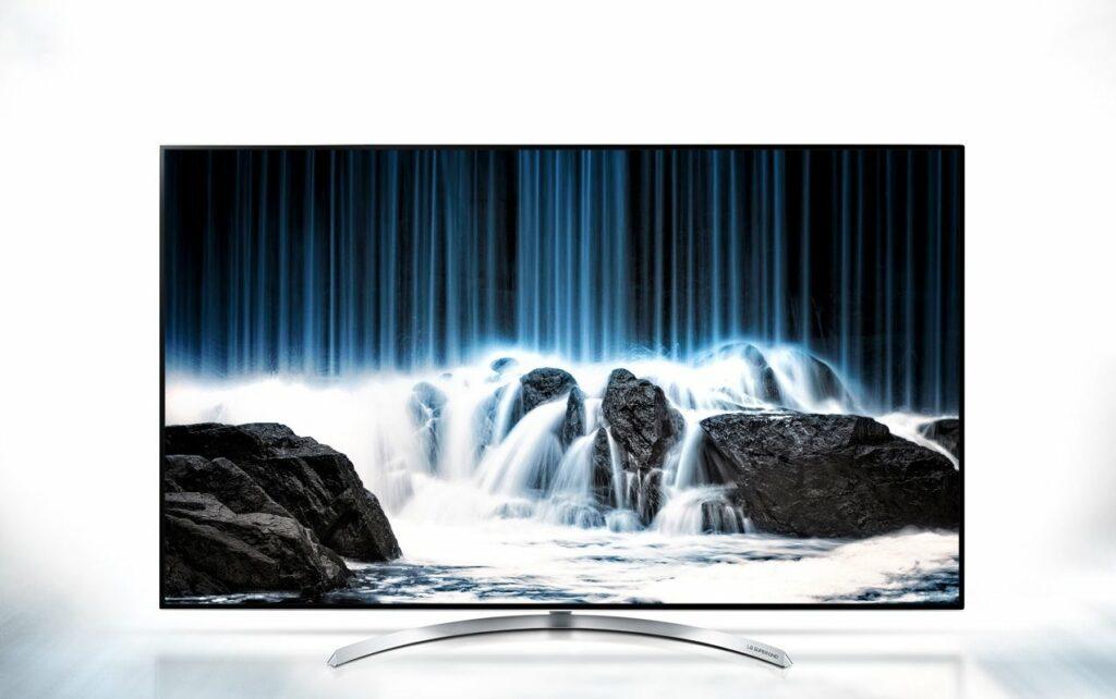 Lækker Anmeldelse: LG SJ850V UHD tv er et godt tv med et enkelt stort problem WA-52
