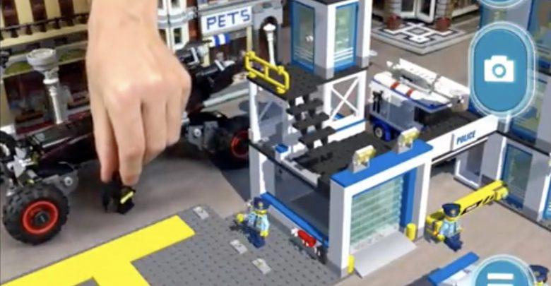 Photo of LEGO klar med AR app til iOS