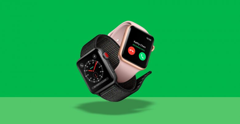 Photo of Apple Watch 4G