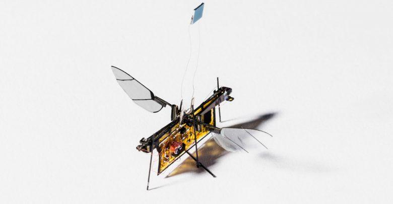 Photo of Nyt robotinsekt flyver på laserlys: Robofly er i luften