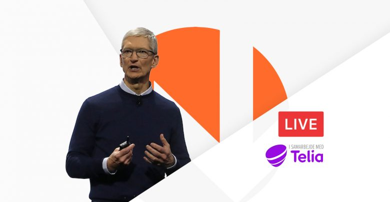 Photo of Live video: Følg med i Apple-lanceringen med iNPUT
