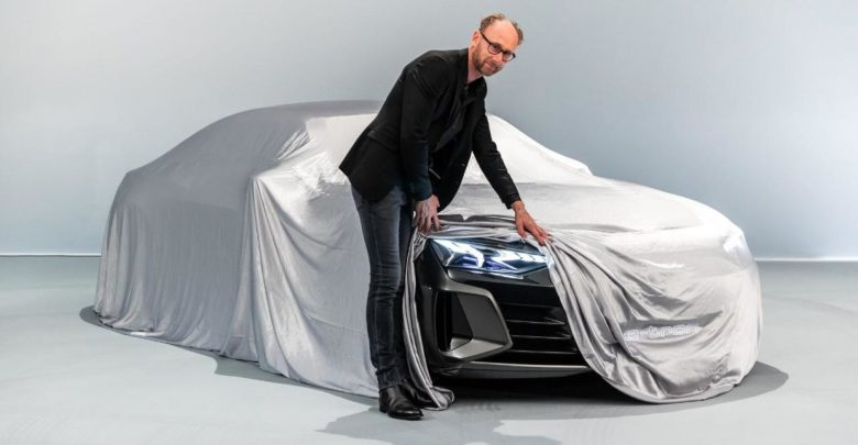 Photo of Audi teaser for deres e-Tron sedan – vises frem i morgen