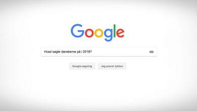 danske Google-søgninger