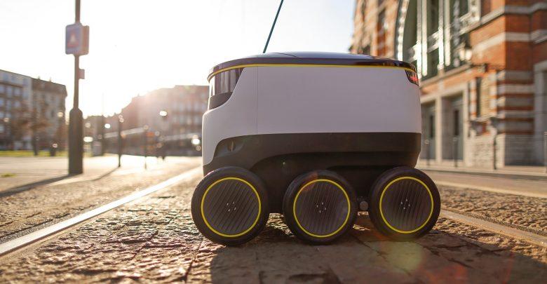 Photo of Selvkørende robot spottet i Københavns gader