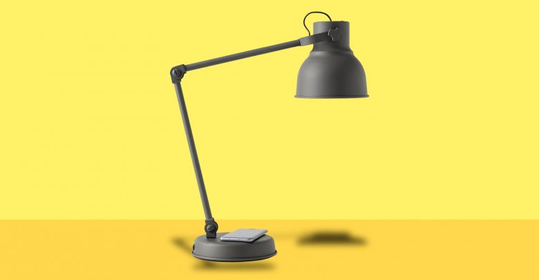 Photo of IKEA Hektar skrivebordslampe