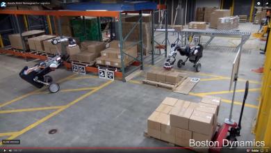"""Photo of Boston Dynamics bygger """"Handle Robot"""" der klarer lagerarbejdet"""