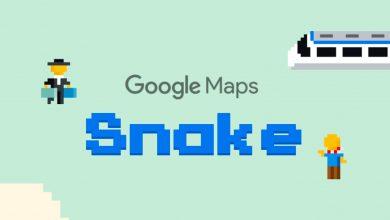 Photo of Nu kan du spille Snake i Google Maps