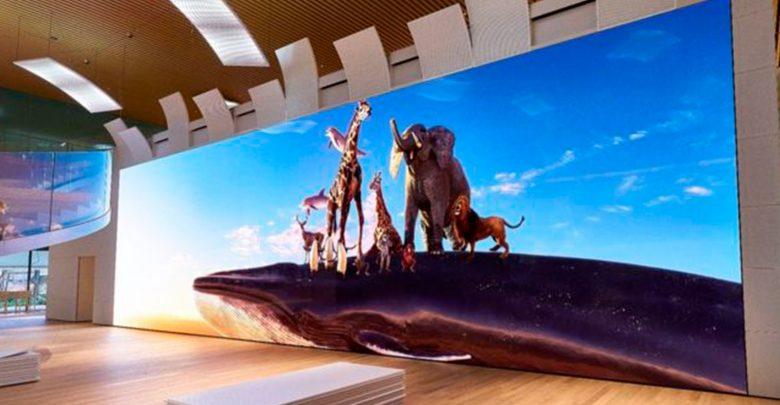 Photo of Sony afslører kolossal 16K-skærm