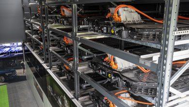 """Audi åbner """"batteri-lager"""" i Berlin med brugte elbilbatterier"""