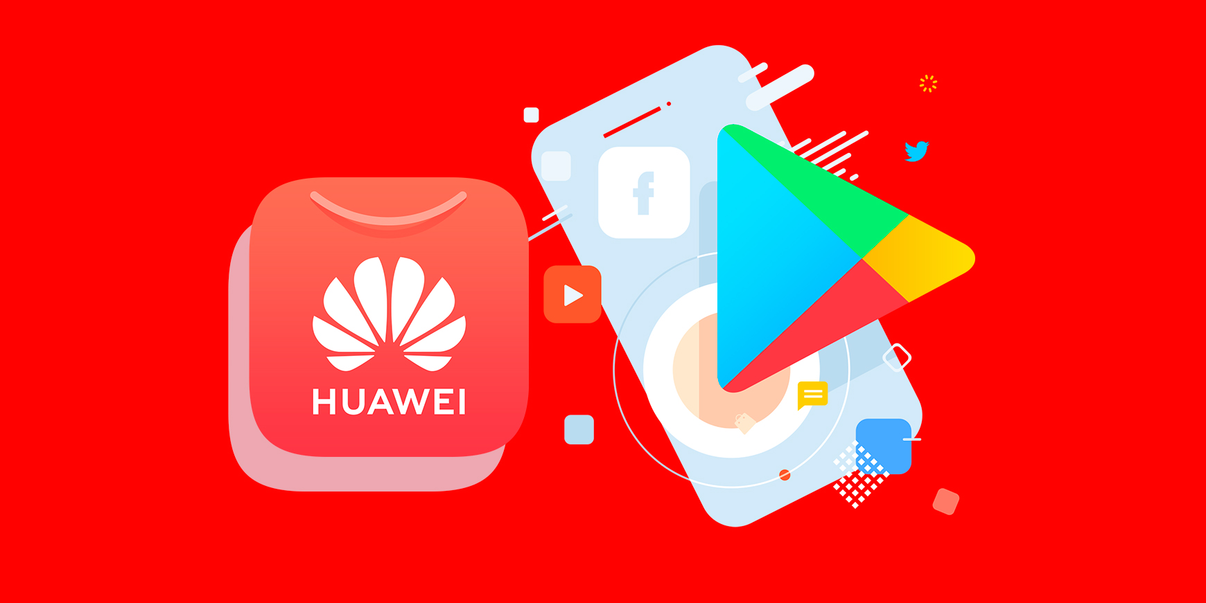 Huawei forbereder sig til tiden efter Google Play — iNPUT