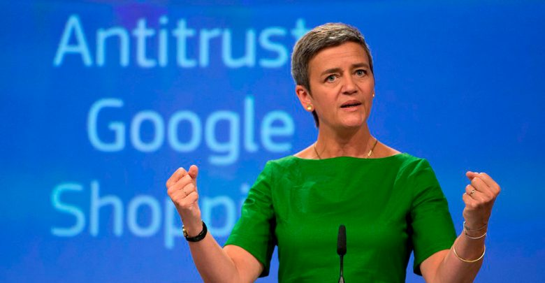 Photo of Vestager gransker Googles dataindsamling