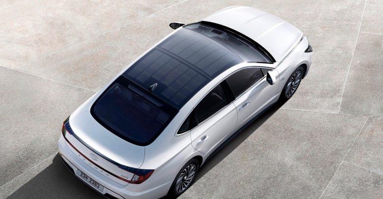 Photo of Hyundai-hybridbil har fået solceller på taget