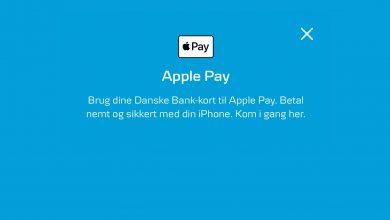 Photo of Danske Bank har åbnet for Apple Pay