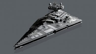Photo of Denne kolossale Lego Star Destroyer er 1 meter lang