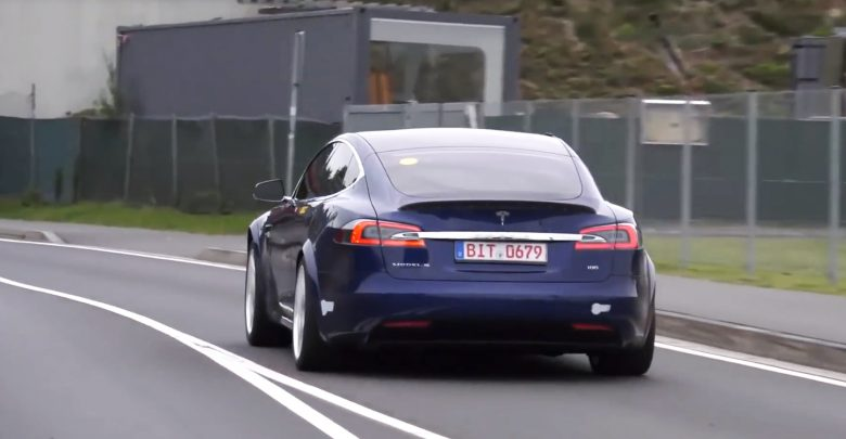 Photo of Tesla Model S slår rekorden på Nürburgringen