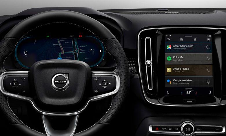 Photo of Volvos første elbil kører på Android