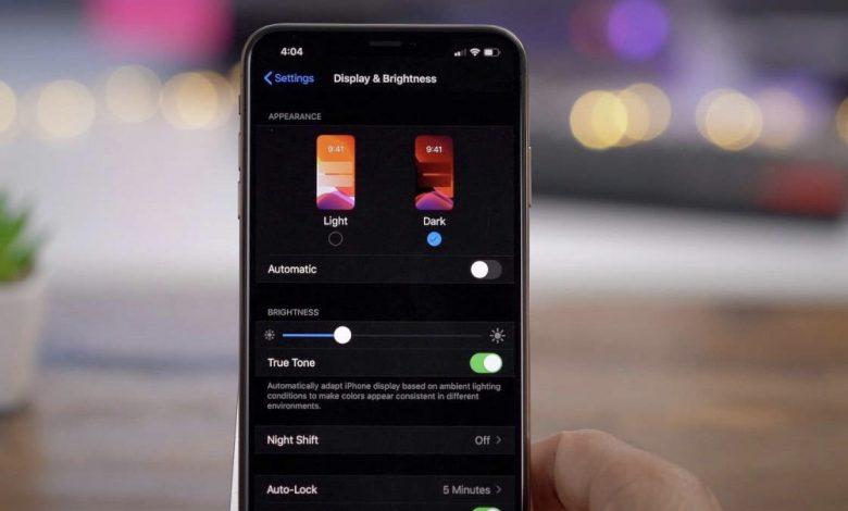 Photo of Dark Mode er guld for dit iPhone-batteri