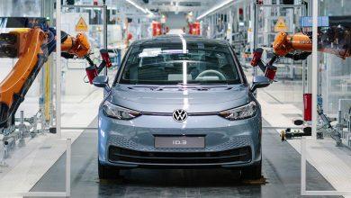 Photo of Nu ruller Volkswagen ID.3 ud fra fabrikken