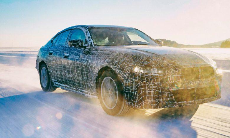 Photo of BMW drypper detaljer om sin elektriske sedan BMW i4