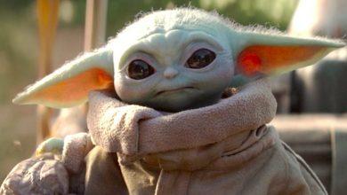 Mandalorian Baby Yoda