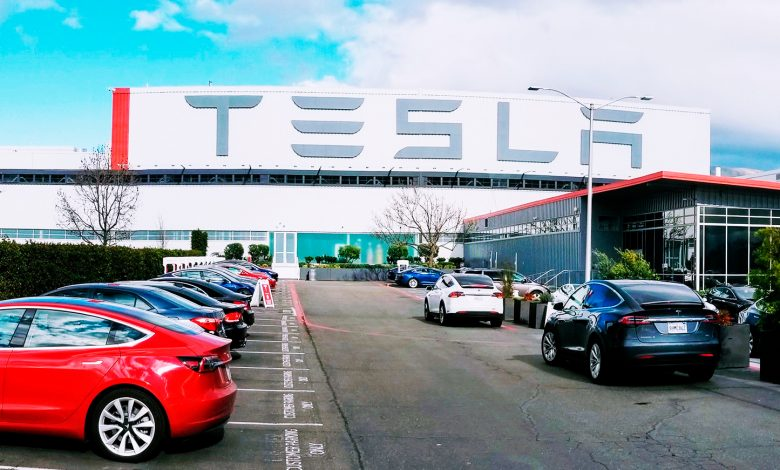Photo of Teslas kæmpefabrik i Berlin skal producere halv million biler om året