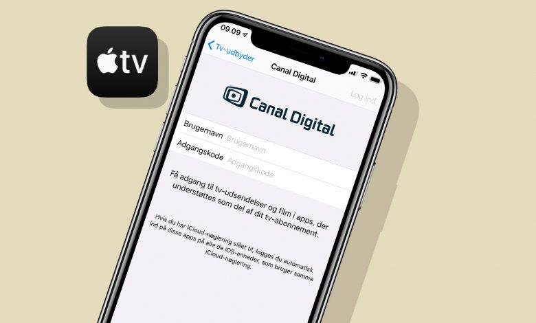 Photo of Canal Digital er flyttet ind i Apples nye TV-app
