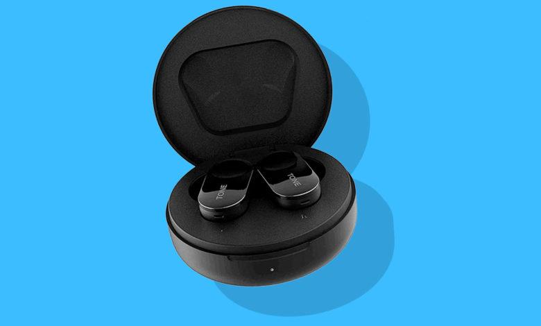 Photo of LG's nye true wireless renses for bakterier i opladeræsken