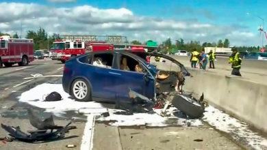 Photo of Elbiler er involveret i flere uheld