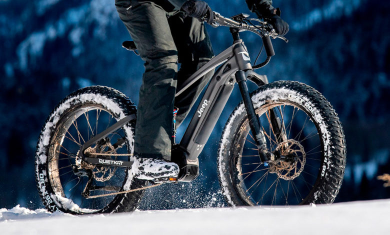 Photo of Jeep teaser barsk elcykel under Super Bowl