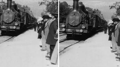 Photo of AI laver imponerende 4K udgave af film fra 1895