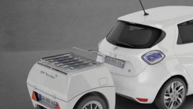 Photo of Batteri-trailer skal øge elbilens rækkevidde