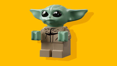 Photo of Nu kommer Baby Yoda også som Lego