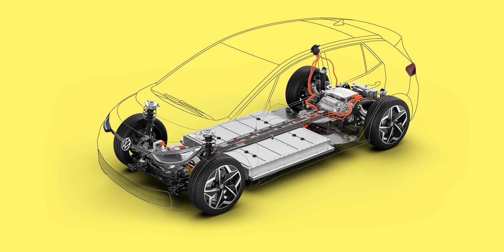 Volkswagen elbils-batterier