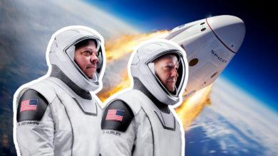 Photo of I aften sender Elon Musk mennesker i rummet