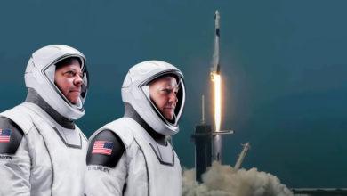 Photo of Så lykkedes det: I aftes skrev SpaceX historie