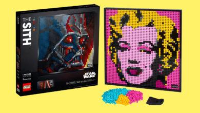 Photo of Lego lancerer 'pixel-kunst' til væggen